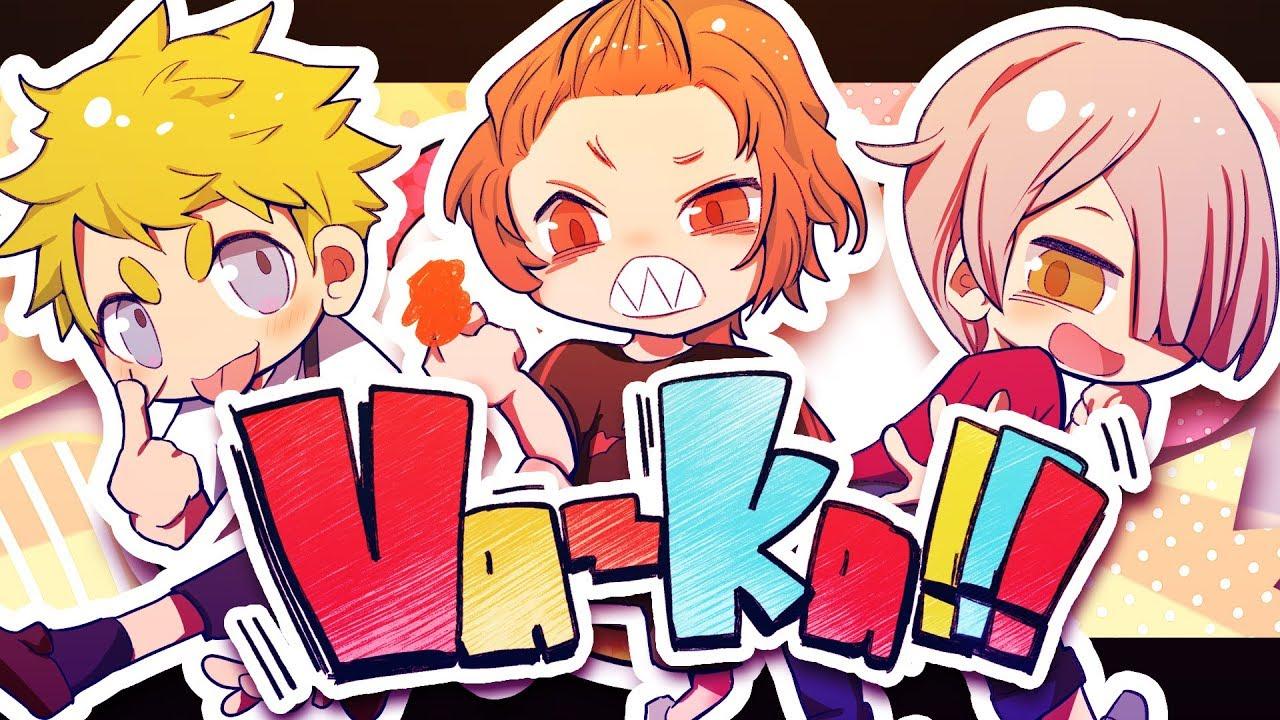 『あらき×un:c×kradness - Va-ka!!!』収録の『Va-ka!!!』ジャケット
