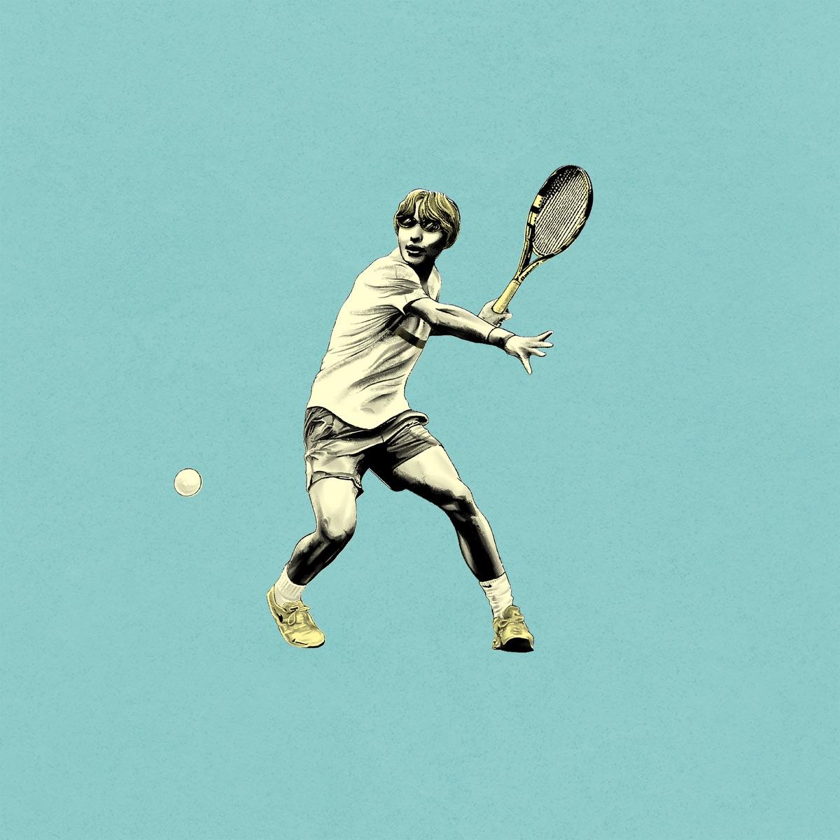 『Mega Shinnosuke - Sports』収録の『Sports』ジャケット