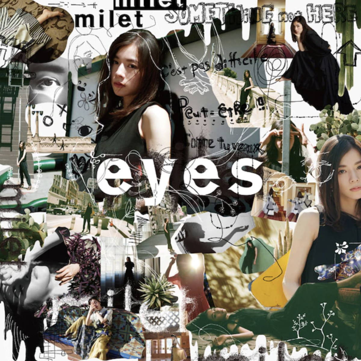 『milet - The Love We've Made』収録の『eyes』ジャケット