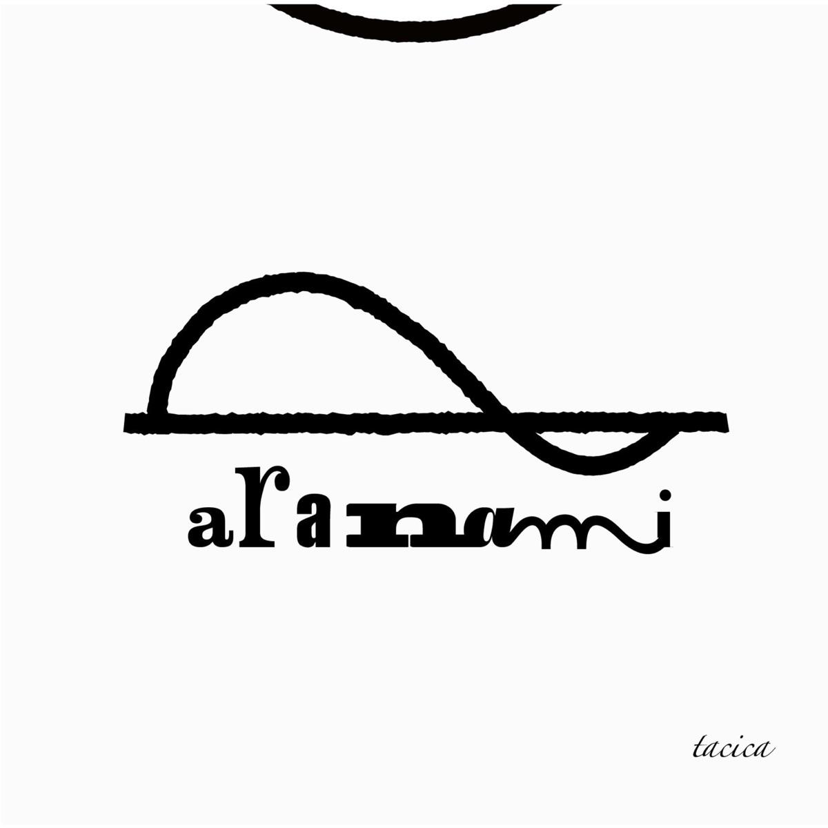 『tacica象牙の塔』収録の『aranami』ジャケット