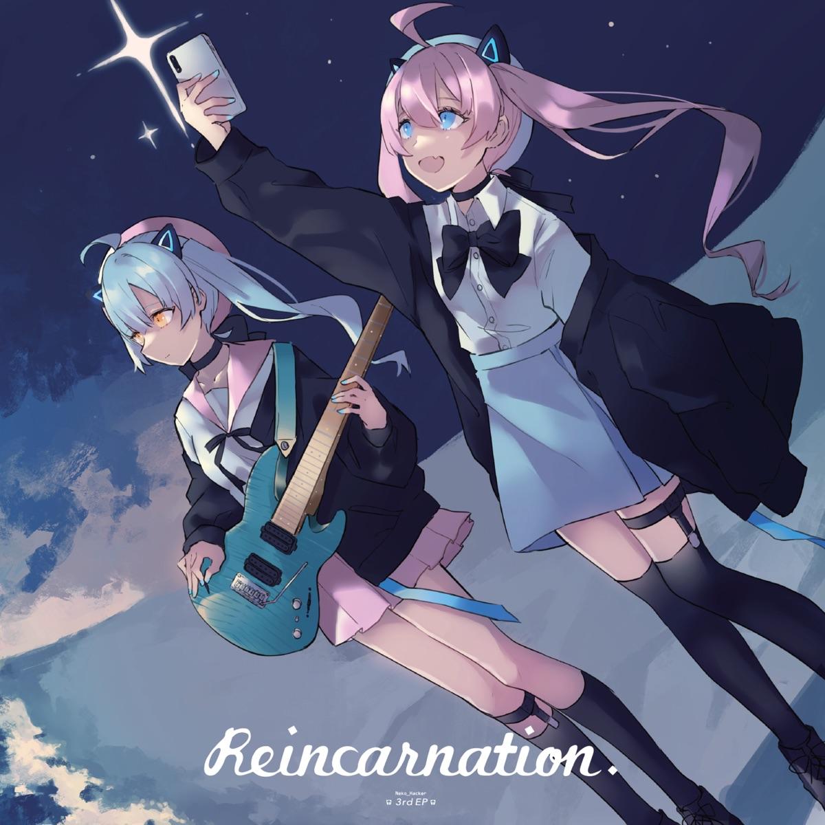 『Neko Hacker - Pictures feat. 4s4ki』収録の『Reincarnation』ジャケット