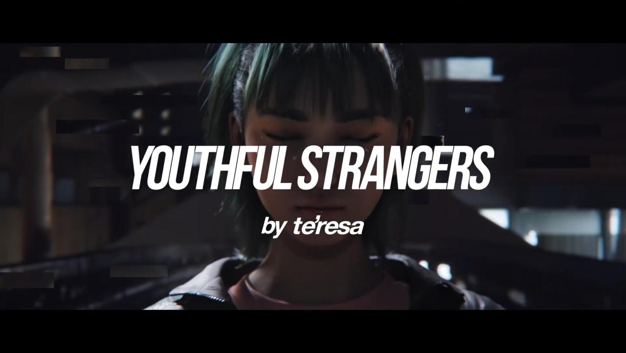 『te'resa Youthful Strangers 歌詞』収録の『Youthful Strangers -ground zero-』ジャケット