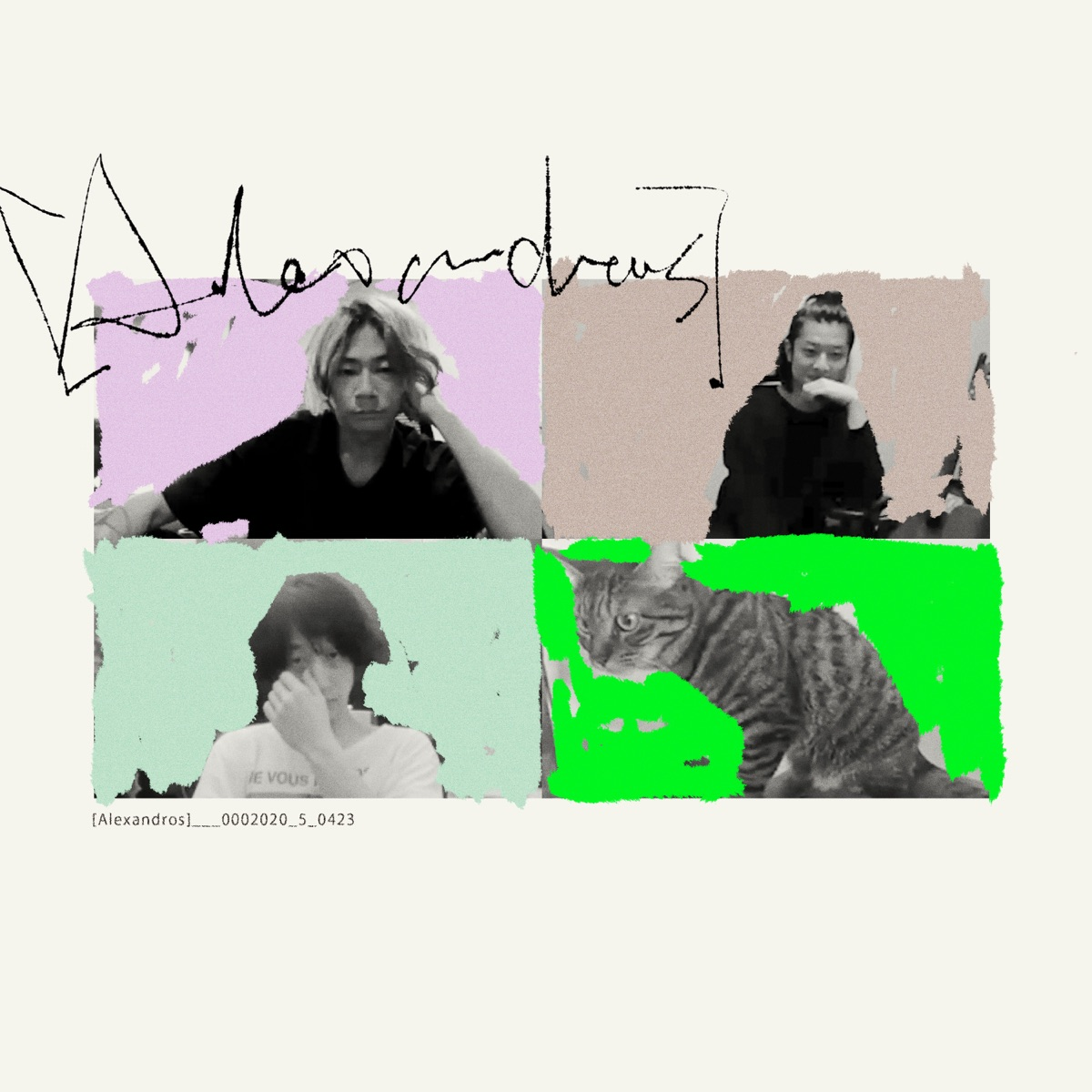 『[Alexandros] - Starrrrrrr (Bedroom Version) 歌詞』収録の『Starrrrrrr (Bedroom ver.)』ジャケット