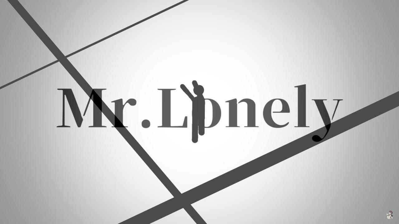 『shino - Mr.Lonely』収録の『Mr.Lonely』ジャケット
