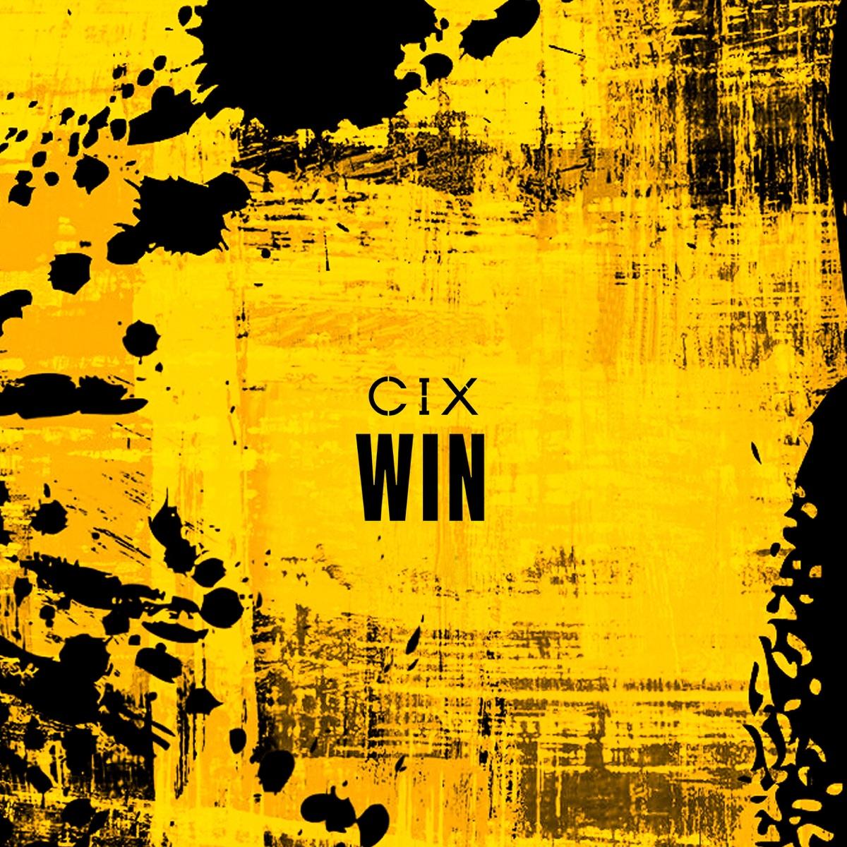 『CIX - WIN 歌詞』収録の『WIN』ジャケット