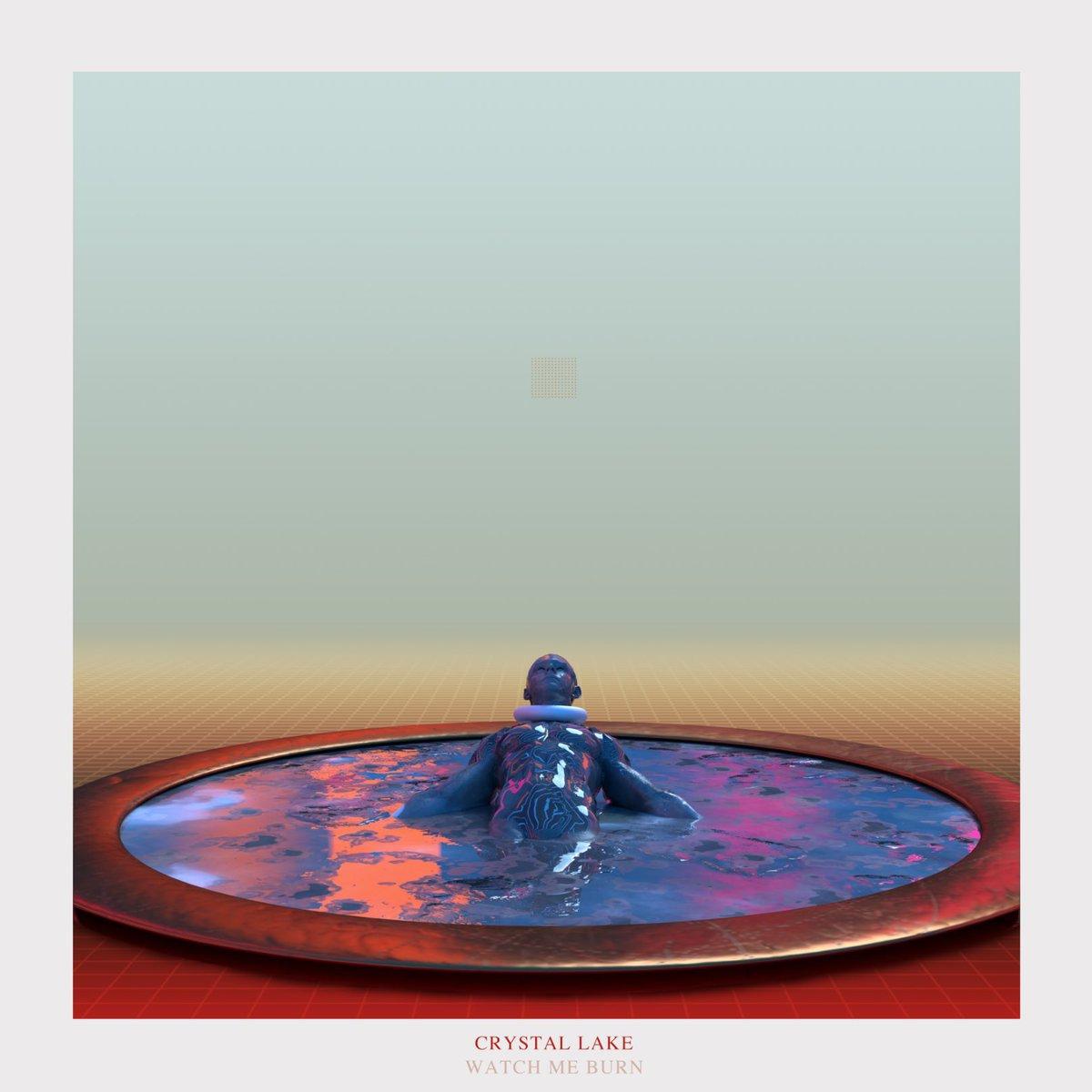 『Crystal Lake - WATCH ME BURN』収録の『WATCH ME BURN』ジャケット