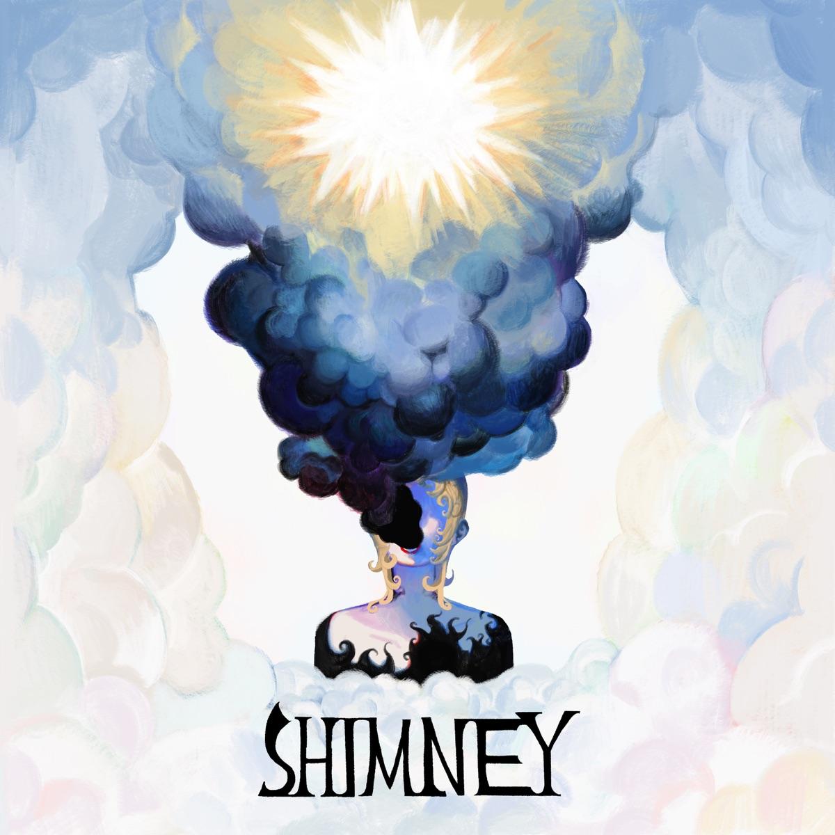 『煮ル果実 - ブライド・アンド・グルームが通る』収録の『SHIMNEY』ジャケット