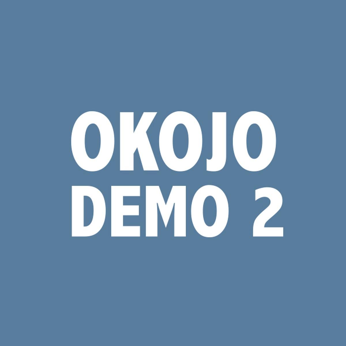 『OKOJO サイチェン・マイフォーチュン 歌詞』収録の『DEMO 2』ジャケット