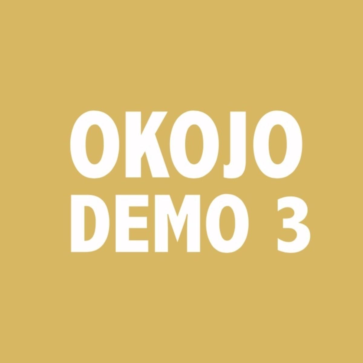 『OKOJO おばさんになっても 歌詞』収録の『DEMO 3』ジャケット