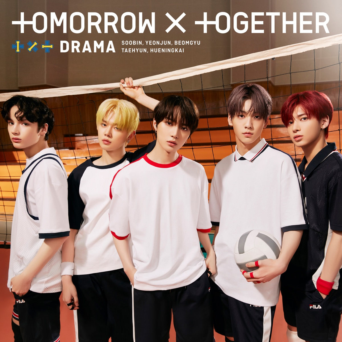 『TOMORROW X TOGETHER - Drama [Japanese Ver.]』収録の『DRAMA』ジャケット