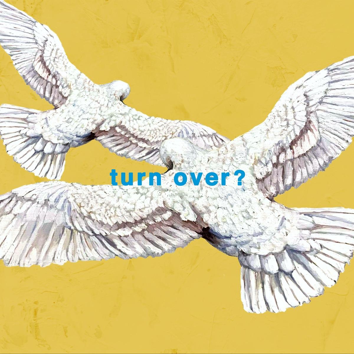 『Mr.Children - turn over?』収録の『turn over?』ジャケット
