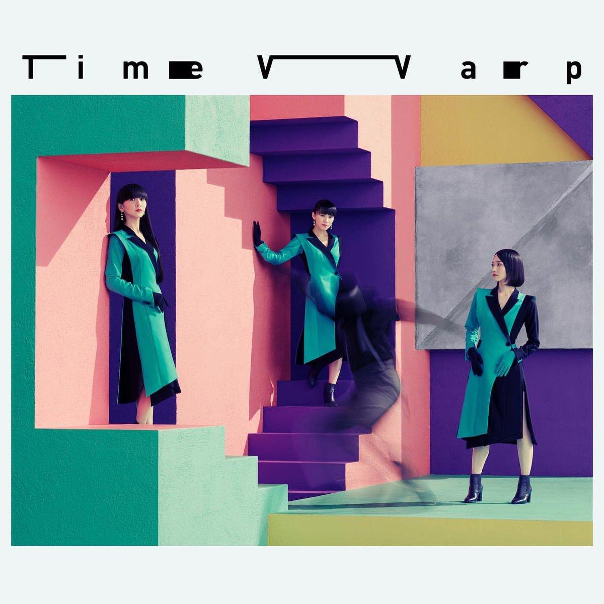 『Perfume Time Warp 歌詞』収録の『Time Warp』ジャケット
