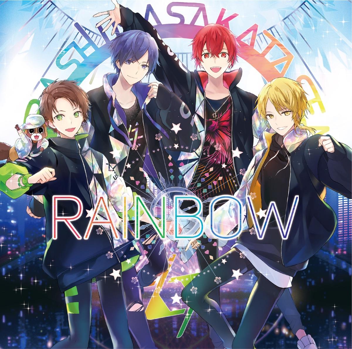 『浦島坂田船 - YELLOW FINEST 歌詞』収録の『RAINBOW』ジャケット