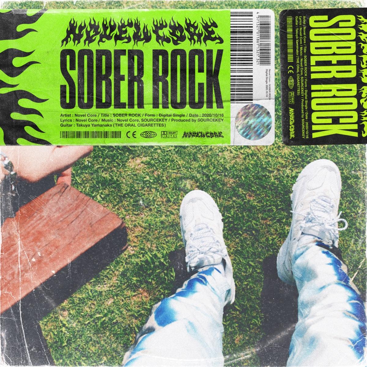 『Novel Core - SOBER ROCK』収録の『SOBER ROCK』ジャケット