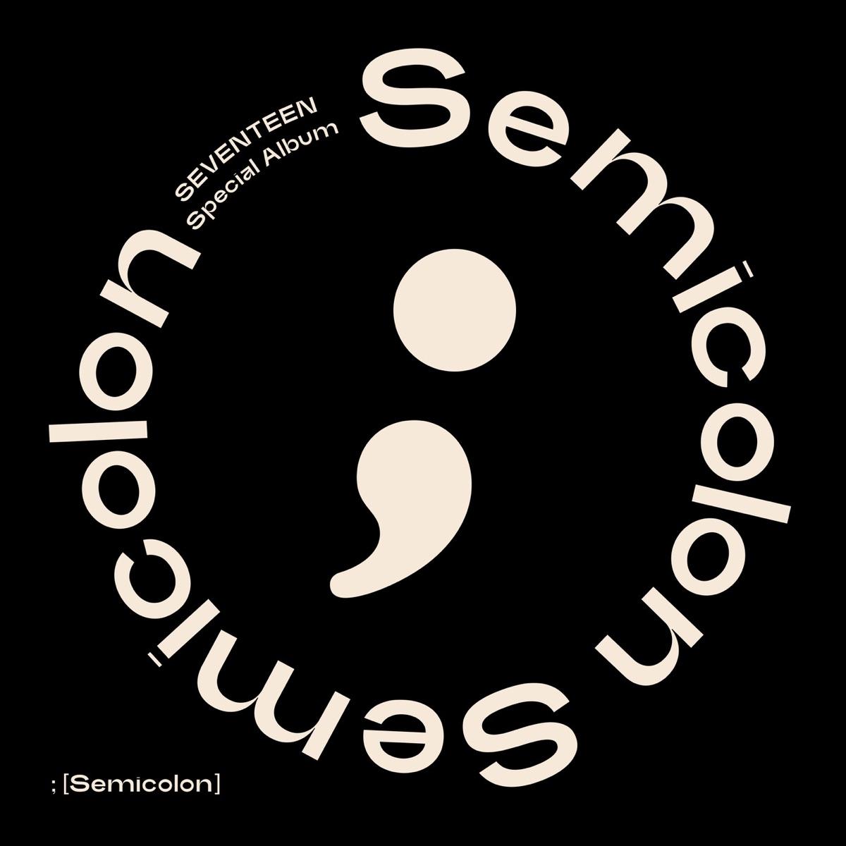 『SEVENTEEN - HEY BUDDY』収録の『; (Semicolon)』ジャケット