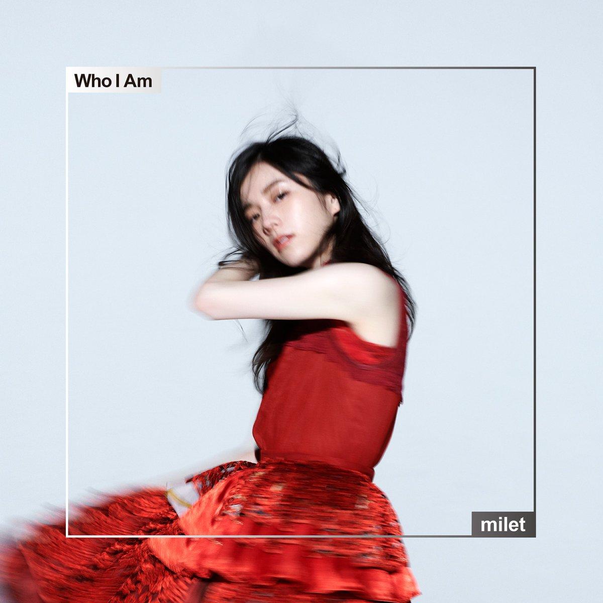 『milet - Who I Am 歌詞』収録の『Who I Am』ジャケット