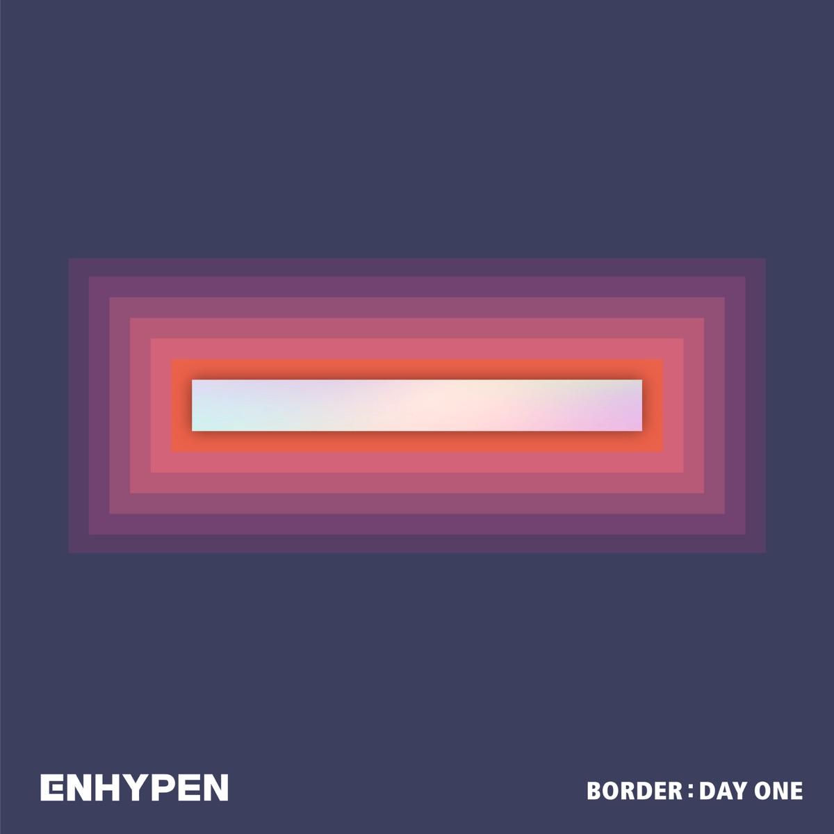 『ENHYPEN - Given-Taken 歌詞』収録の『BORDER : DAY ONE』ジャケット