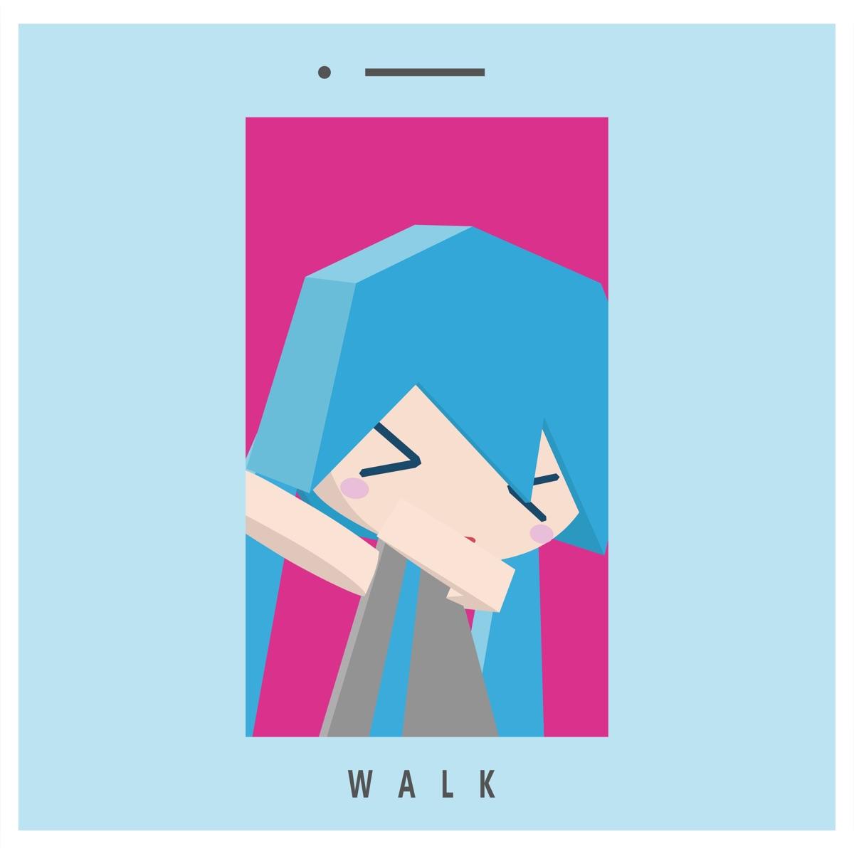 『23.exe - Eighteen』収録の『WALK』ジャケット