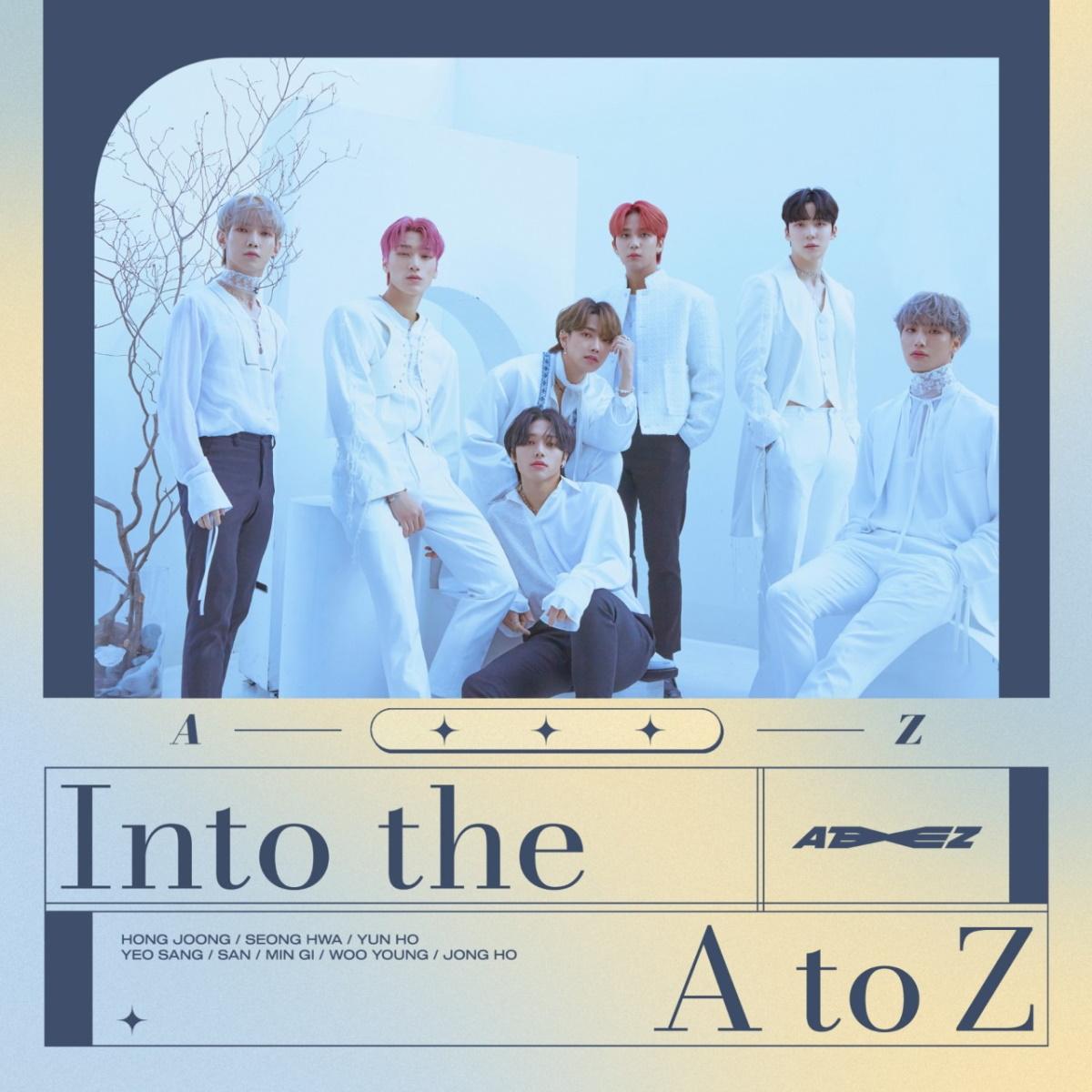 『ATEEZ - THANXX (Japanese Ver.)』収録の『Into the A to Z』ジャケット
