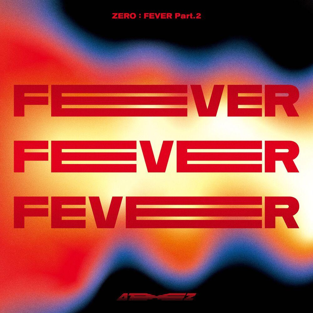 『ATEEZ - Fireworks (I'm The One)』収録の『ZERO : FEVER Part.2』ジャケット