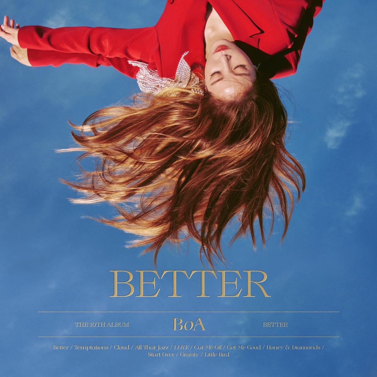 『BoA - Better 歌詞』収録の『BETTER - The 10th Album』ジャケット