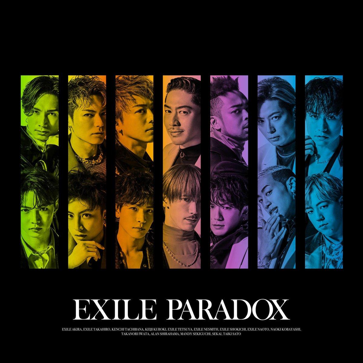 『EXILE - PARADOX』収録の『PARADOX』ジャケット