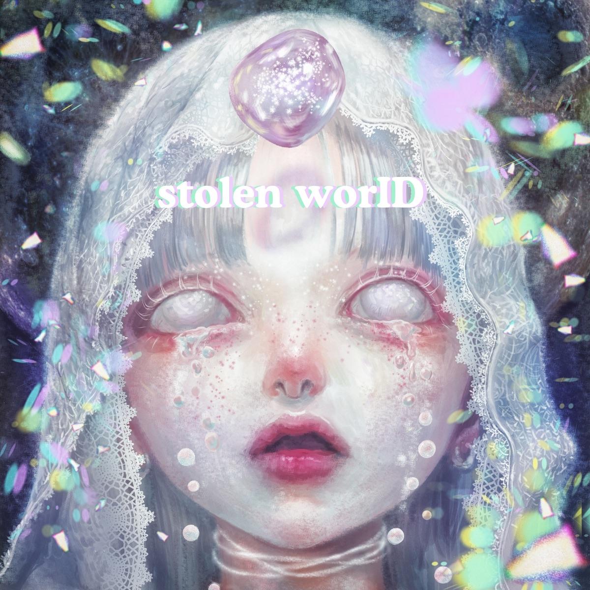 『大森靖子 - stolen worID』収録の『stolen worID』ジャケット