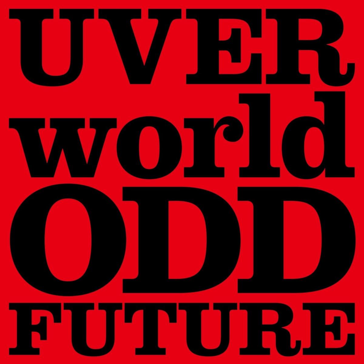 『UVERworld - ODD FUTURE short ver.』収録の『ODD FUTURE short ver.』ジャケット