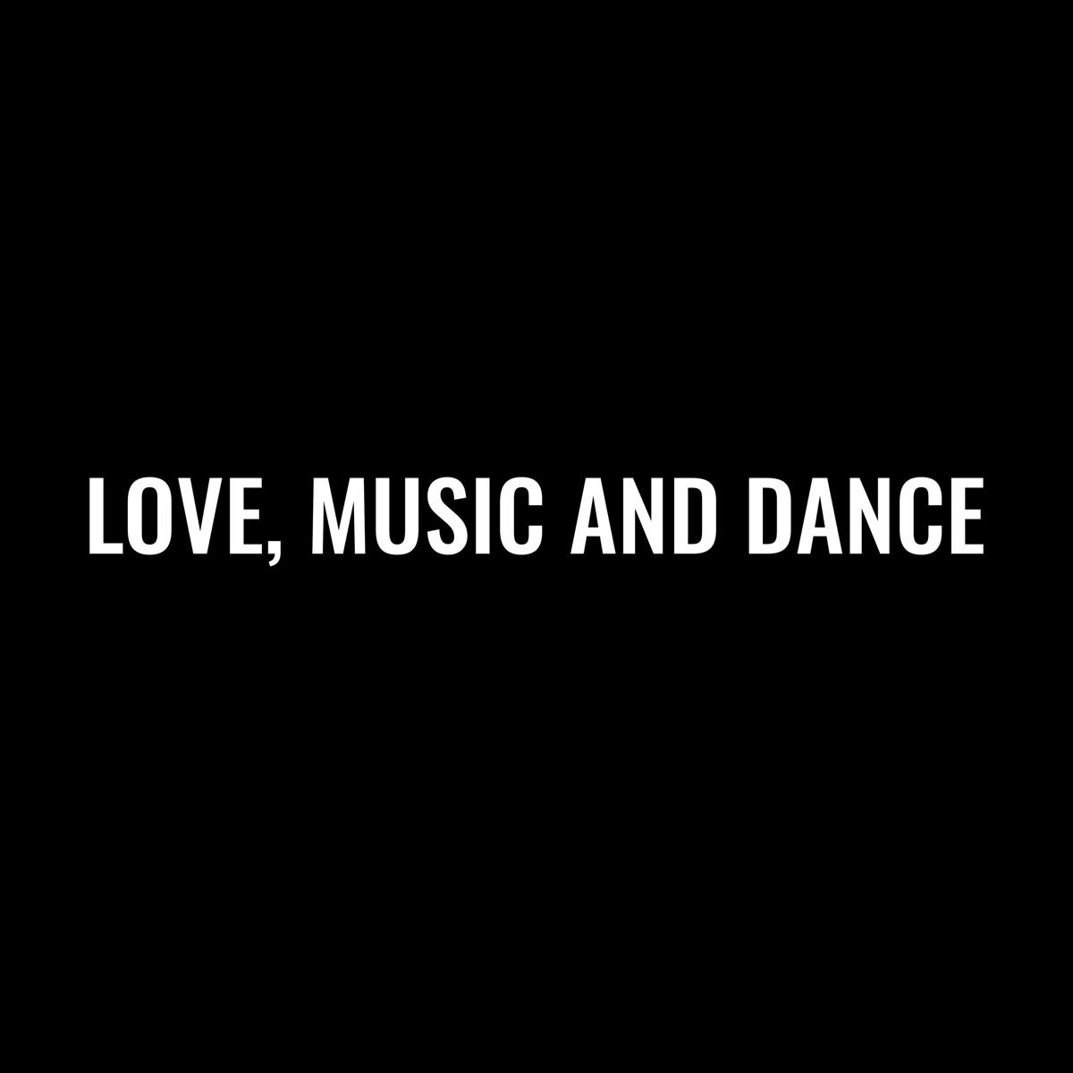 『ALI - FEELIN' GOOD feat. 梅田サイファー(KOPERU, peko, KZ, R-指定) 歌詞』収録の『LOVE, MUSIC AND DANCE』ジャケット