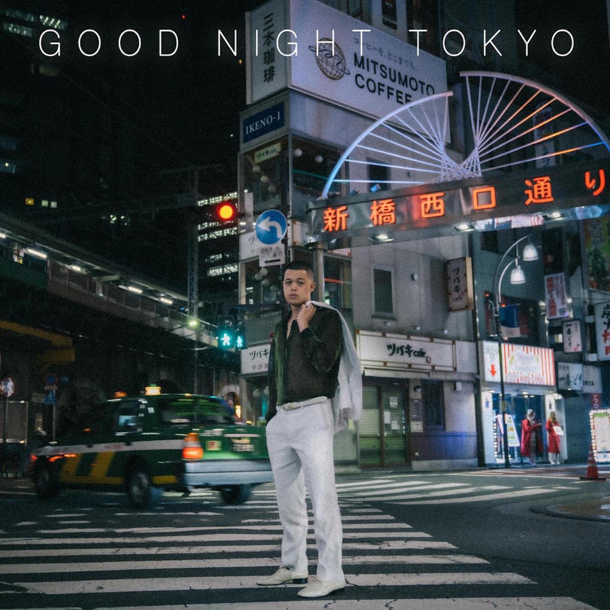『MIYACHI & 青山テルマ - CRAZY OUTSIDE』収録の『GOOD NIGHT TOKYO』ジャケット