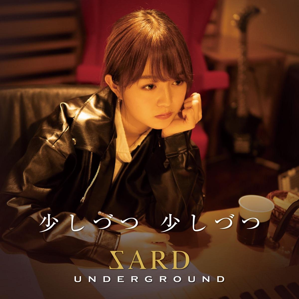 『SARD UNDERGROUND - 少しづつ 少しづつ 歌詞』収録の『少しづつ 少しづつ』ジャケット