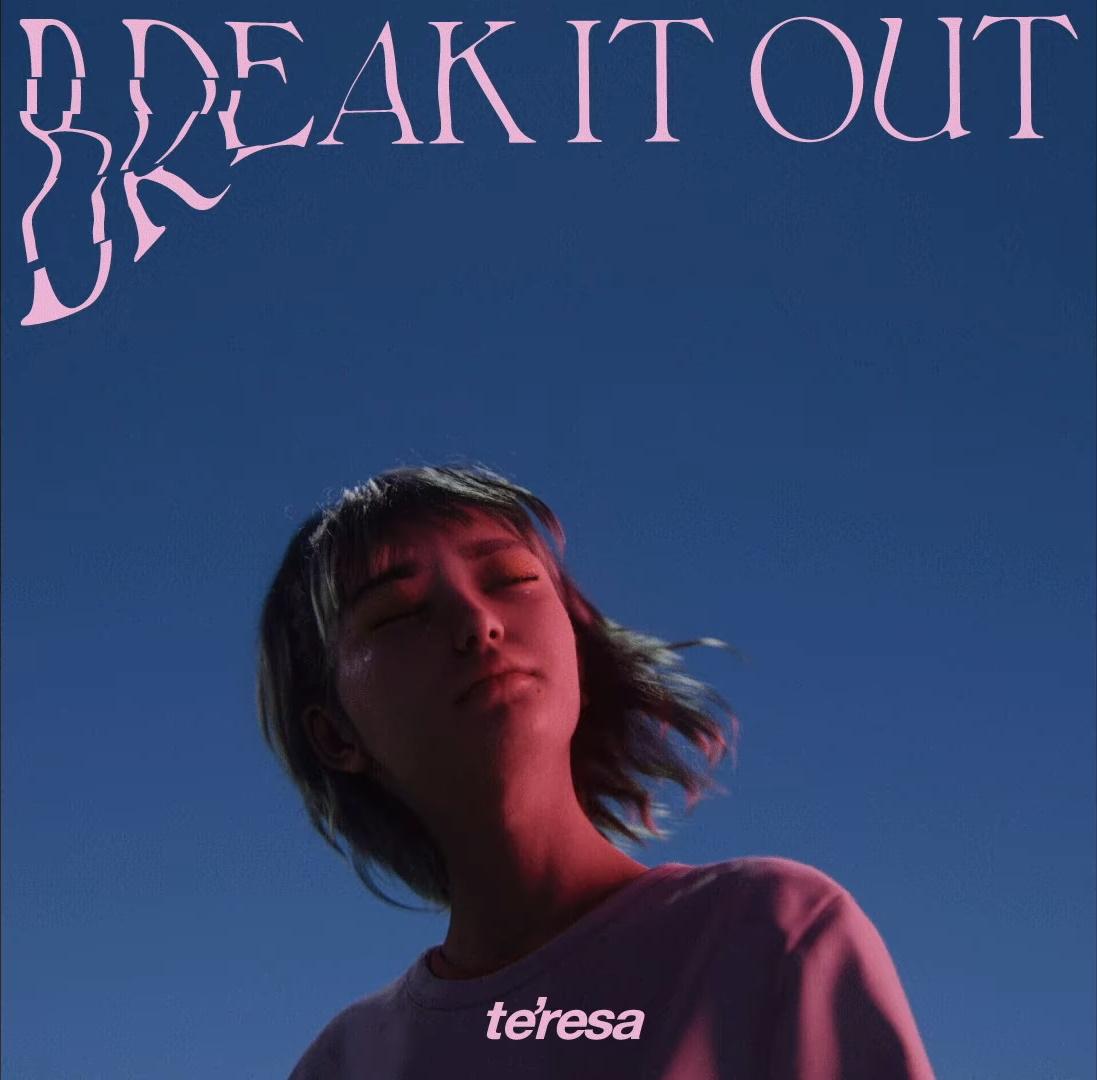 『te'resa - break it out』収録の『break it out』ジャケット