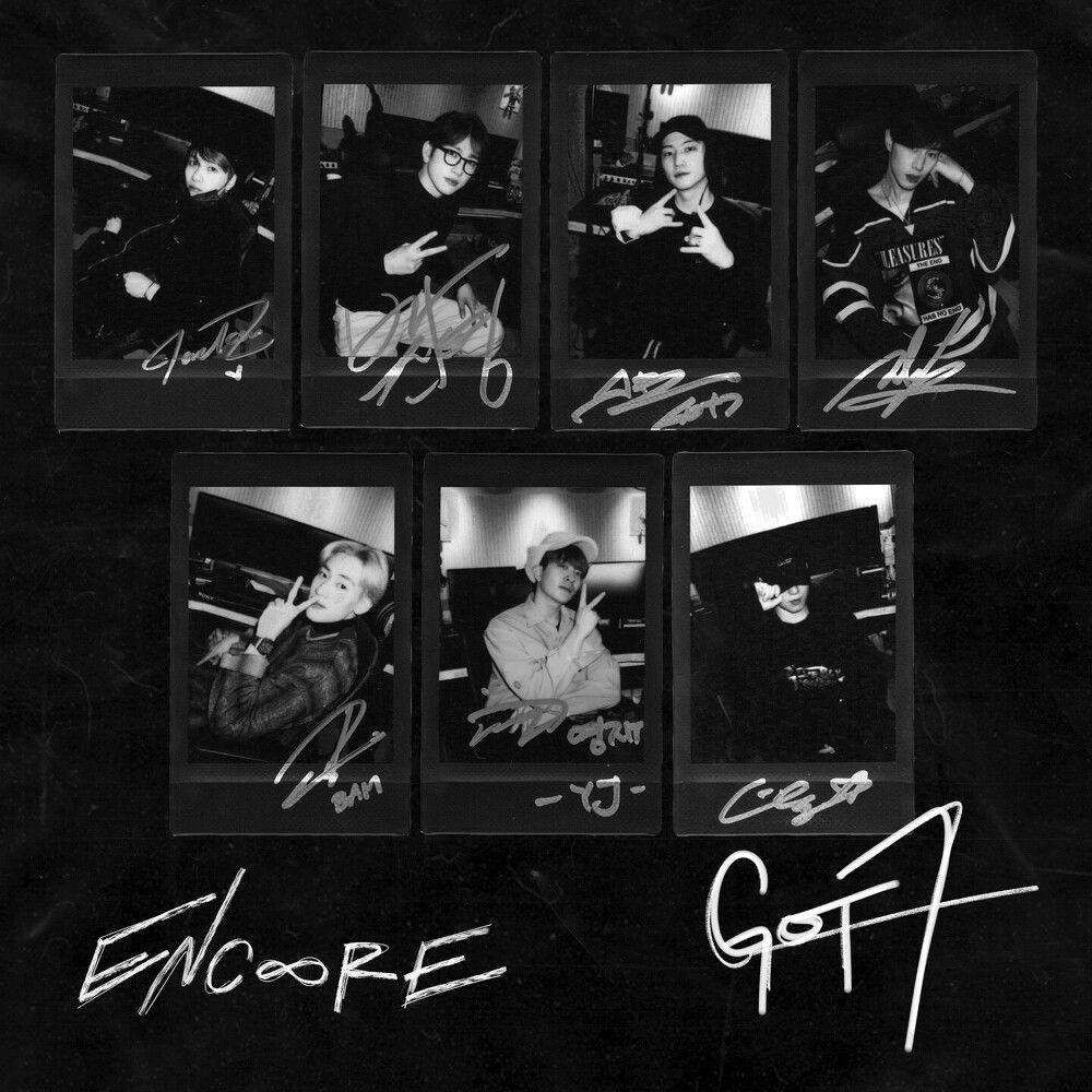 『GOT7 - Encore 歌詞』収録の『Encore』ジャケット