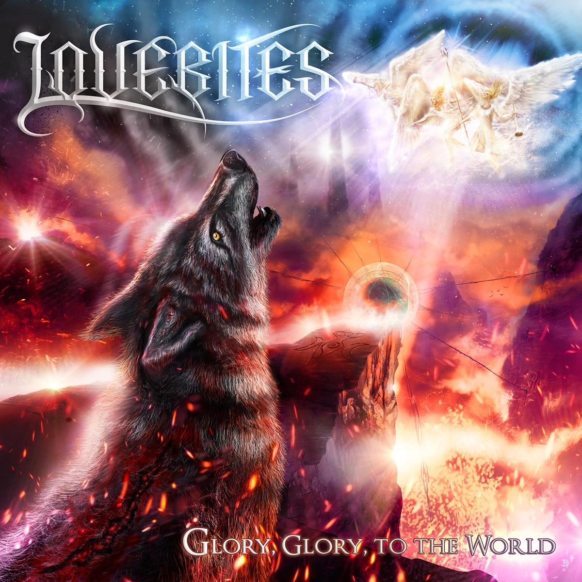 『LOVEBITES - GLORY TO THE WORLD』収録の『GLORY, GLORY, TO THE WORLD』ジャケット