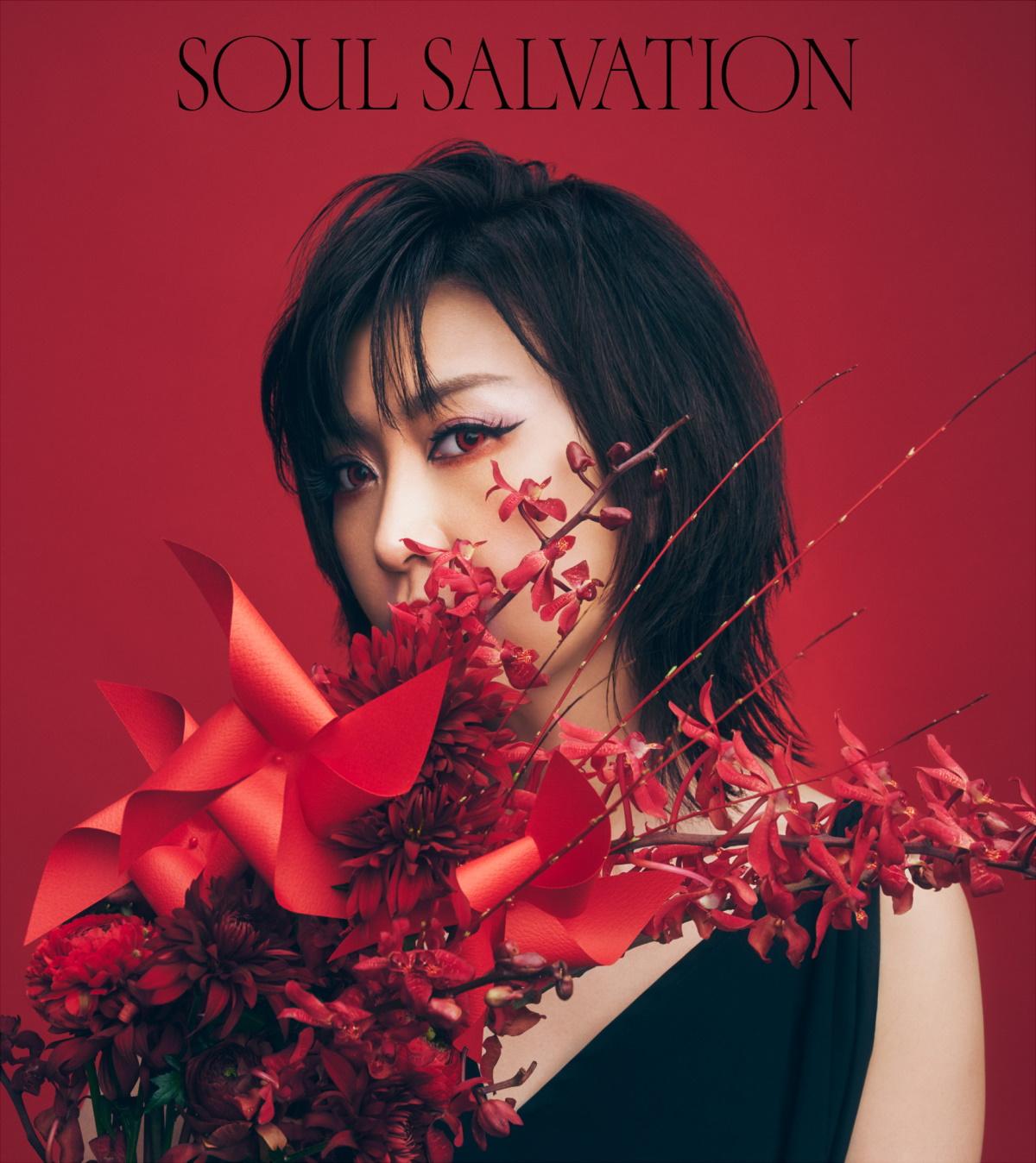 『林原めぐみ - Soul salvation』収録の『Soul salvation』ジャケット