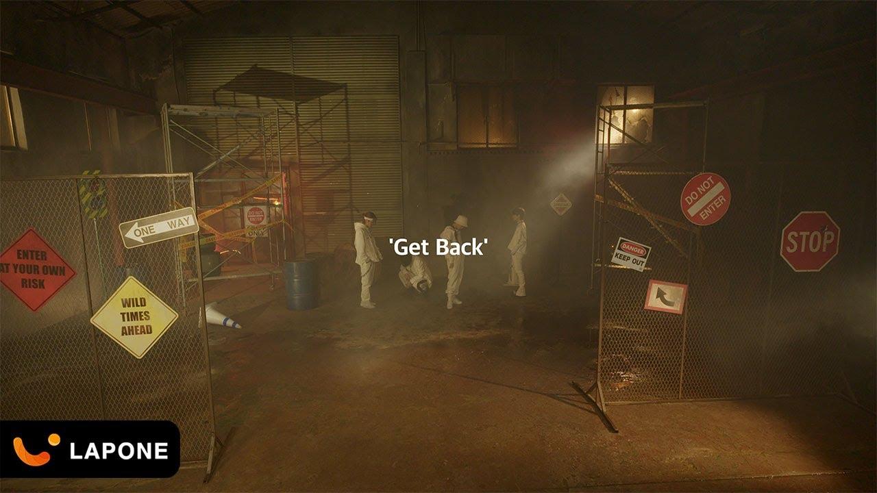 『SHOSEI, TAKUMI, SYOYA, SHION (JO1) - Get Back』収録の『Get Back』ジャケット
