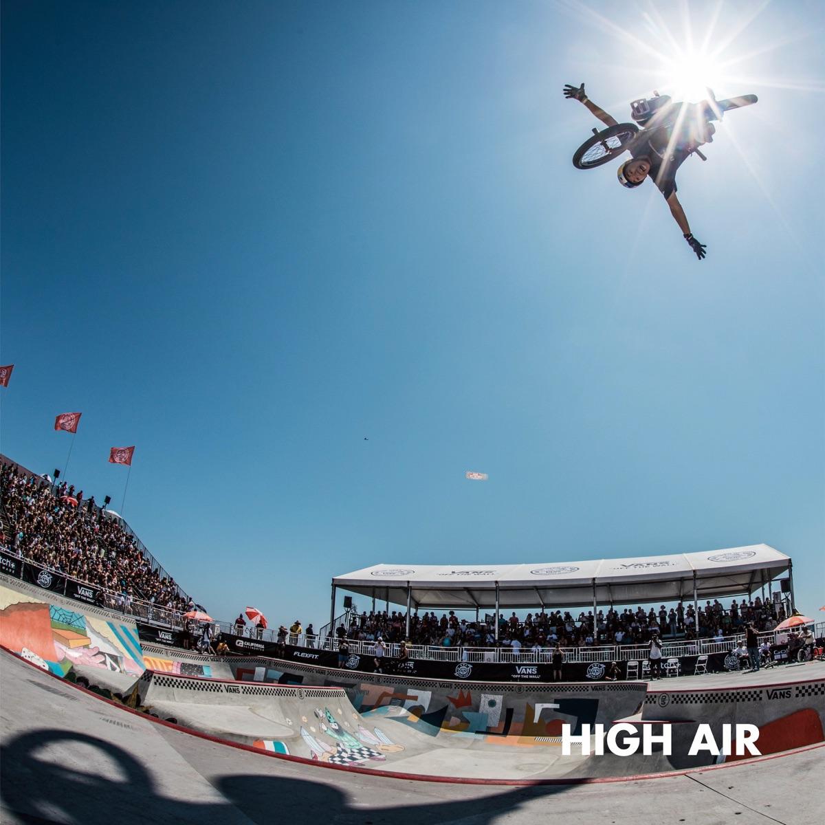 『ANARCHY - HIGH AIR』収録の『HIGH AIR』ジャケット