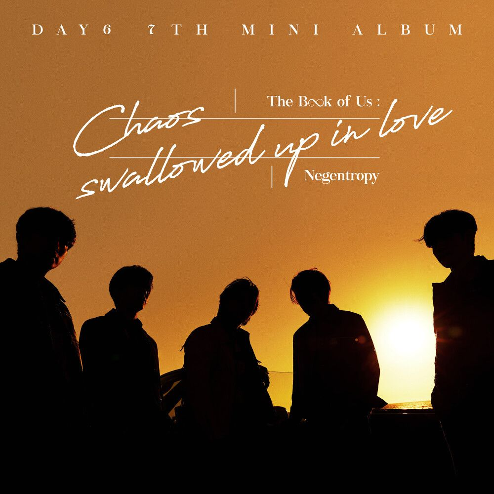 『DAY6 - You make Me』収録の『The Book of Us : Negentropy - Chaos swallowed up in love』ジャケット
