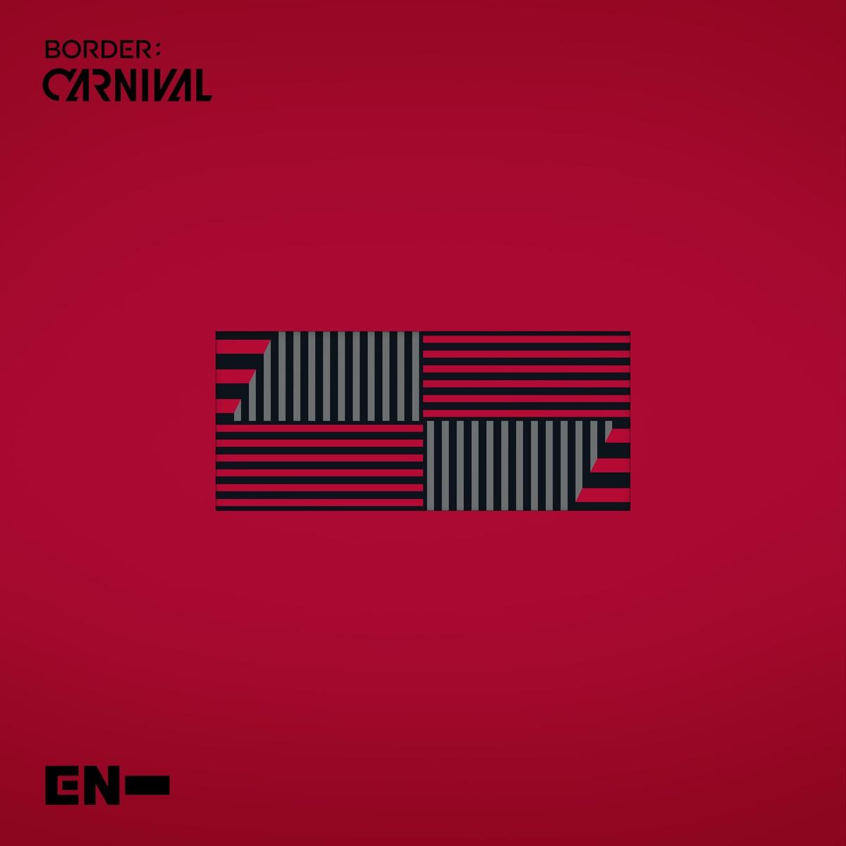 『ENHYPEN - Drunk-Dazed』収録の『BORDER : CARNIVAL』ジャケット