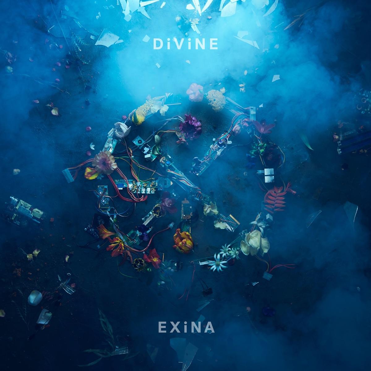 『EXiNA - ERiCA feat. majiko』収録の『DiViNE』ジャケット