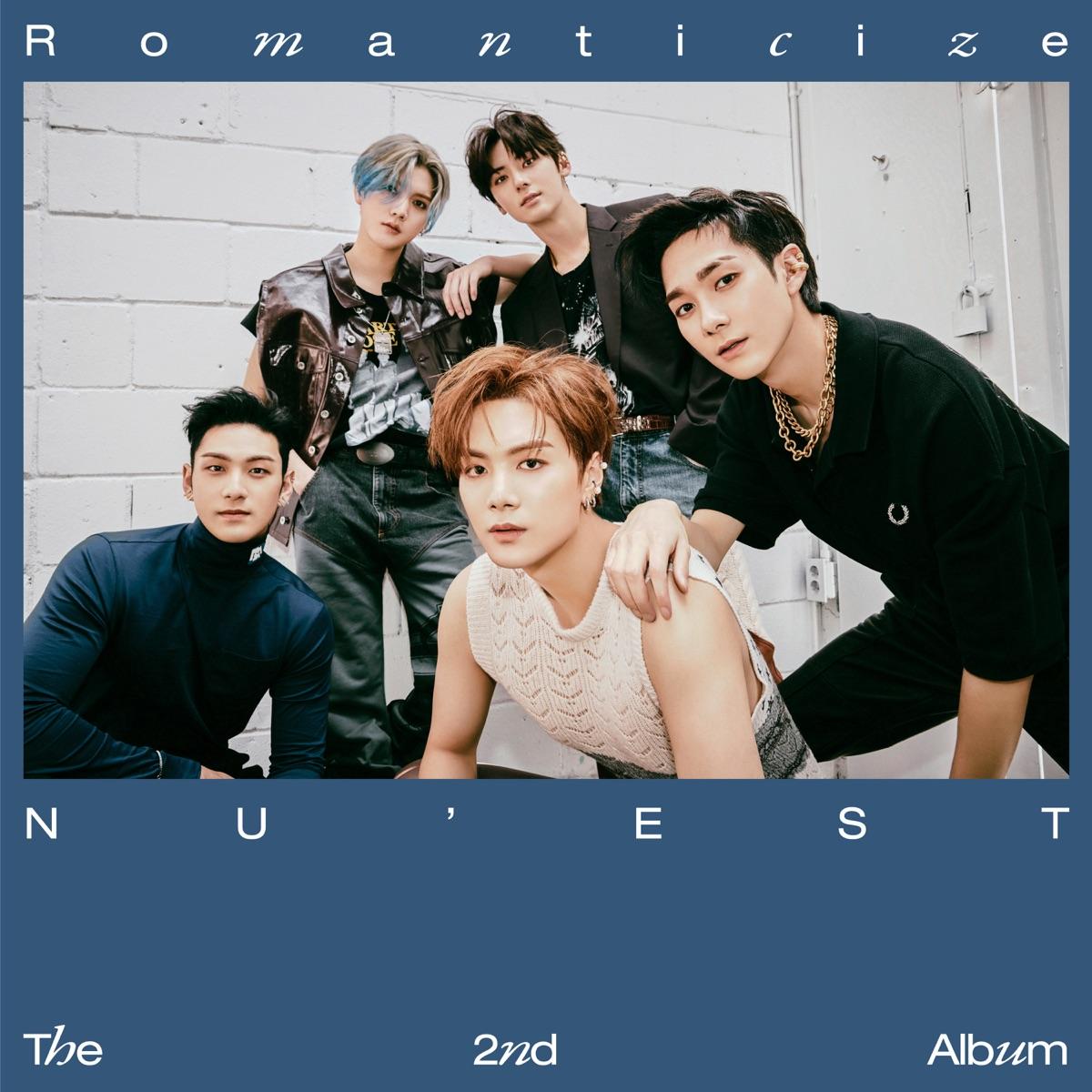 『NU'EST - INSIDE OUT』収録の『The 2nd Album 'Romanticize'』ジャケット