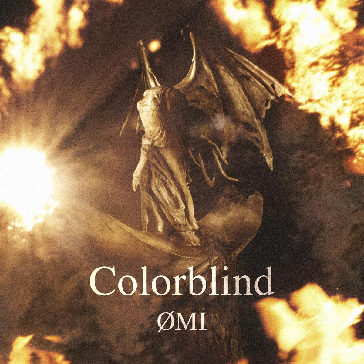 『ØMI - Colorblind』収録の『Colorblind』ジャケット