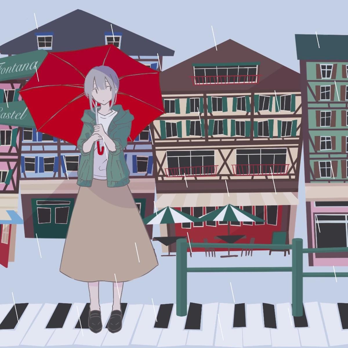 『Penthouse - 雨の日は映画のように』収録の『雨の日は映画のように』ジャケット