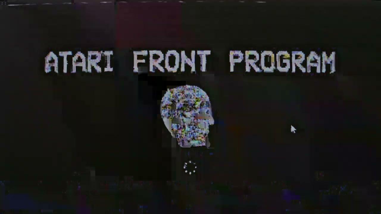 『鬱P - ATARI FRONT PROGRAM』収録の『ATARI FRONT PROGRAM』ジャケット