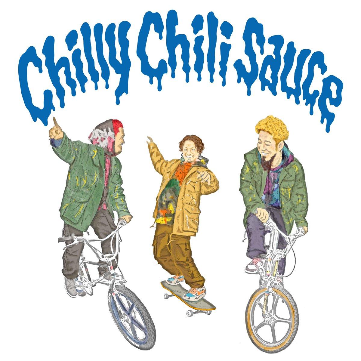 『WANIMA - Chilly Chili Sauce』収録の『Chilly Chili Sauce』ジャケット
