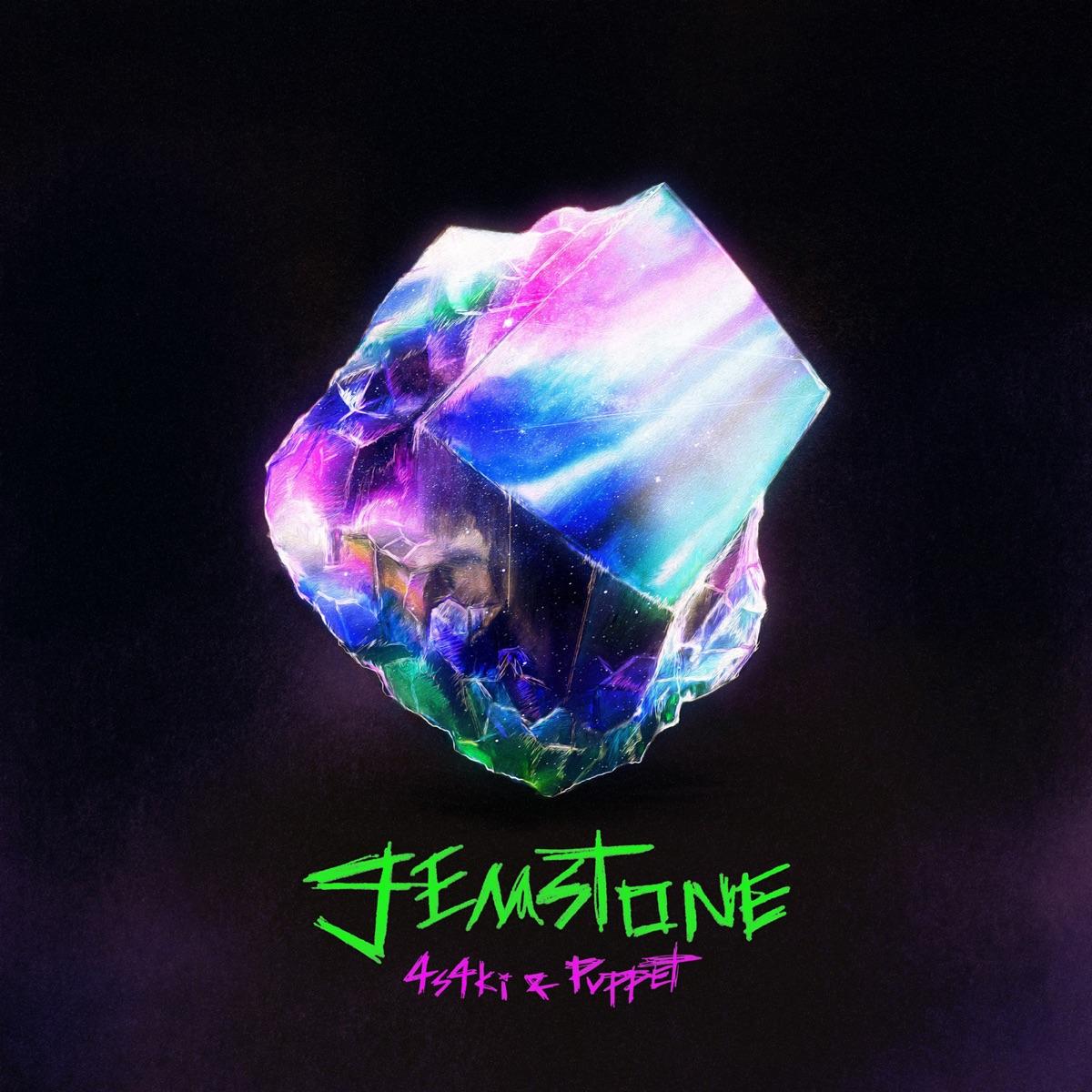 『4s4ki - gemstone feat. Puppet』収録の『gemstone feat. Puppet』ジャケット