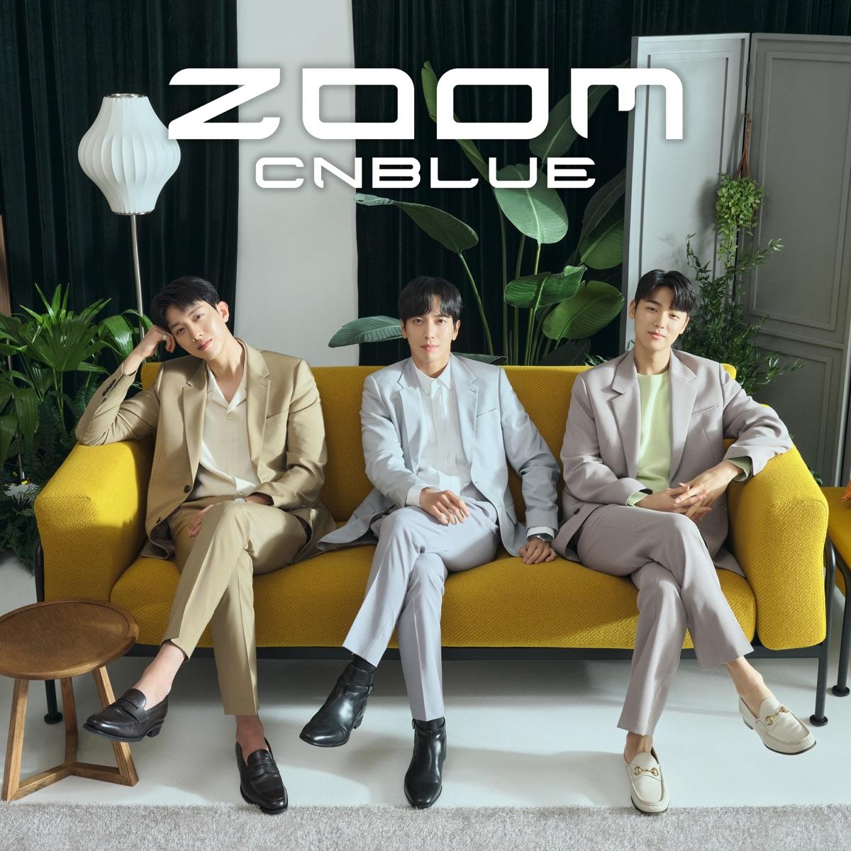 『CNBLUE - ZOOM』収録の『ZOOM』ジャケット