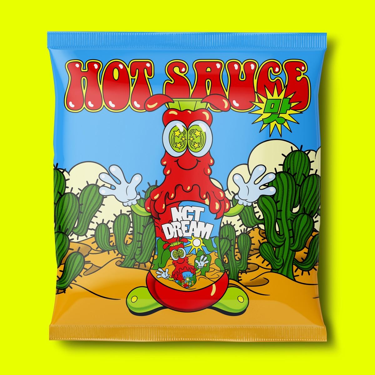 『NCT DREAM - Hot Sauce』収録の『Hot Sauce - The 1st Album』ジャケット
