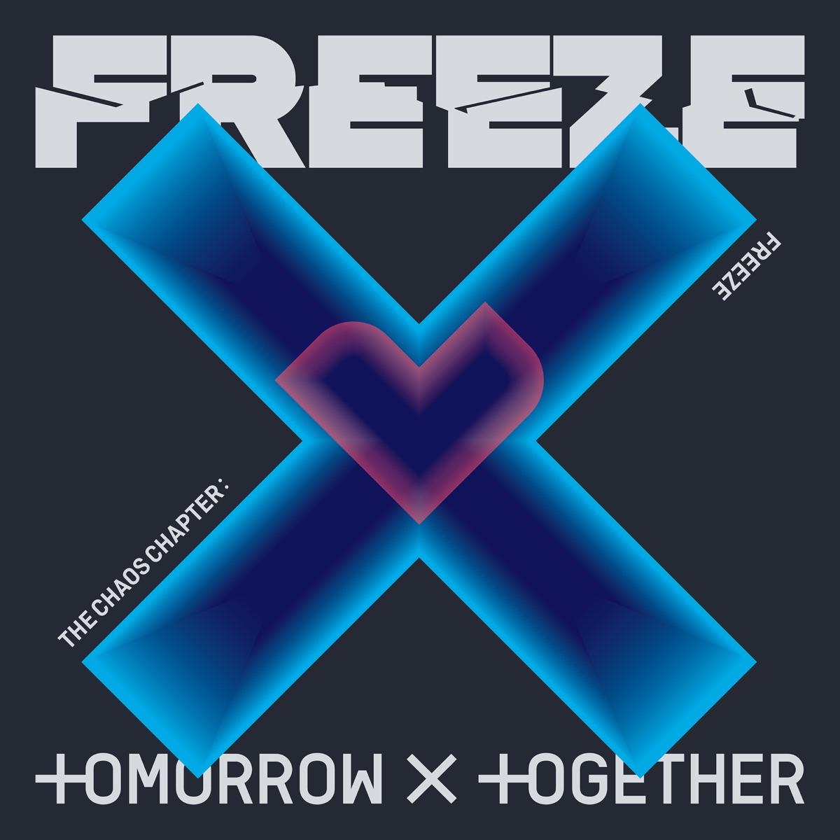 『TOMORROW X TOGETHER - Magic』収録の『The Chaos Chapter : FREEZE』ジャケット