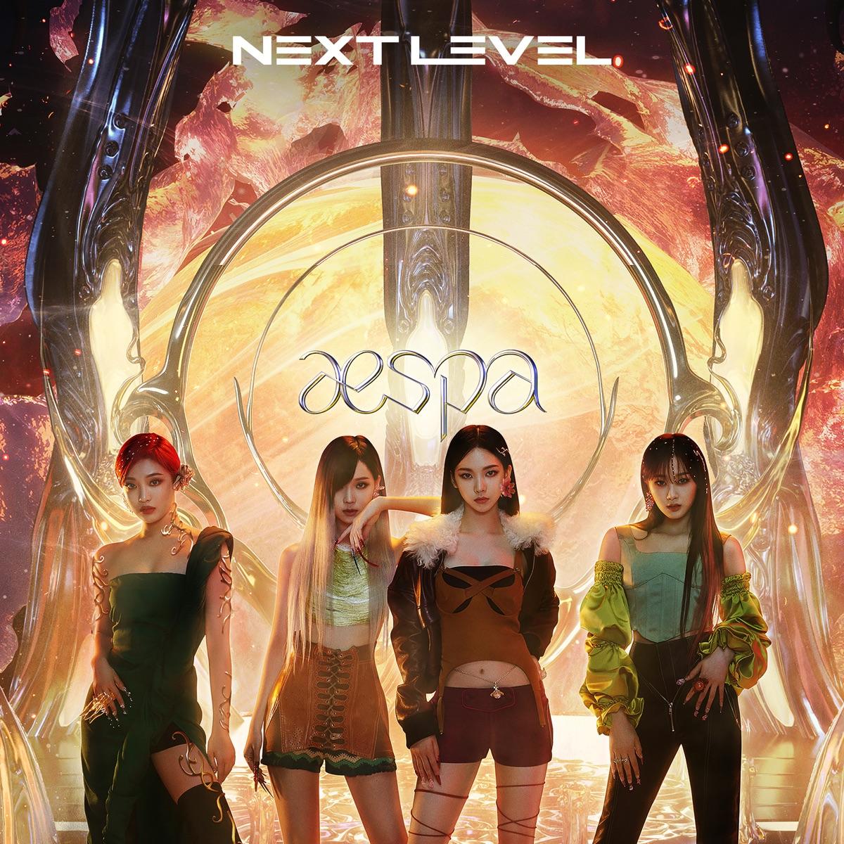 『aespa - Next Level』収録の『Next Level』ジャケット